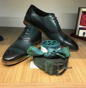 zelene, muske, cipele, zaodelo, odela, svecane muske cipele